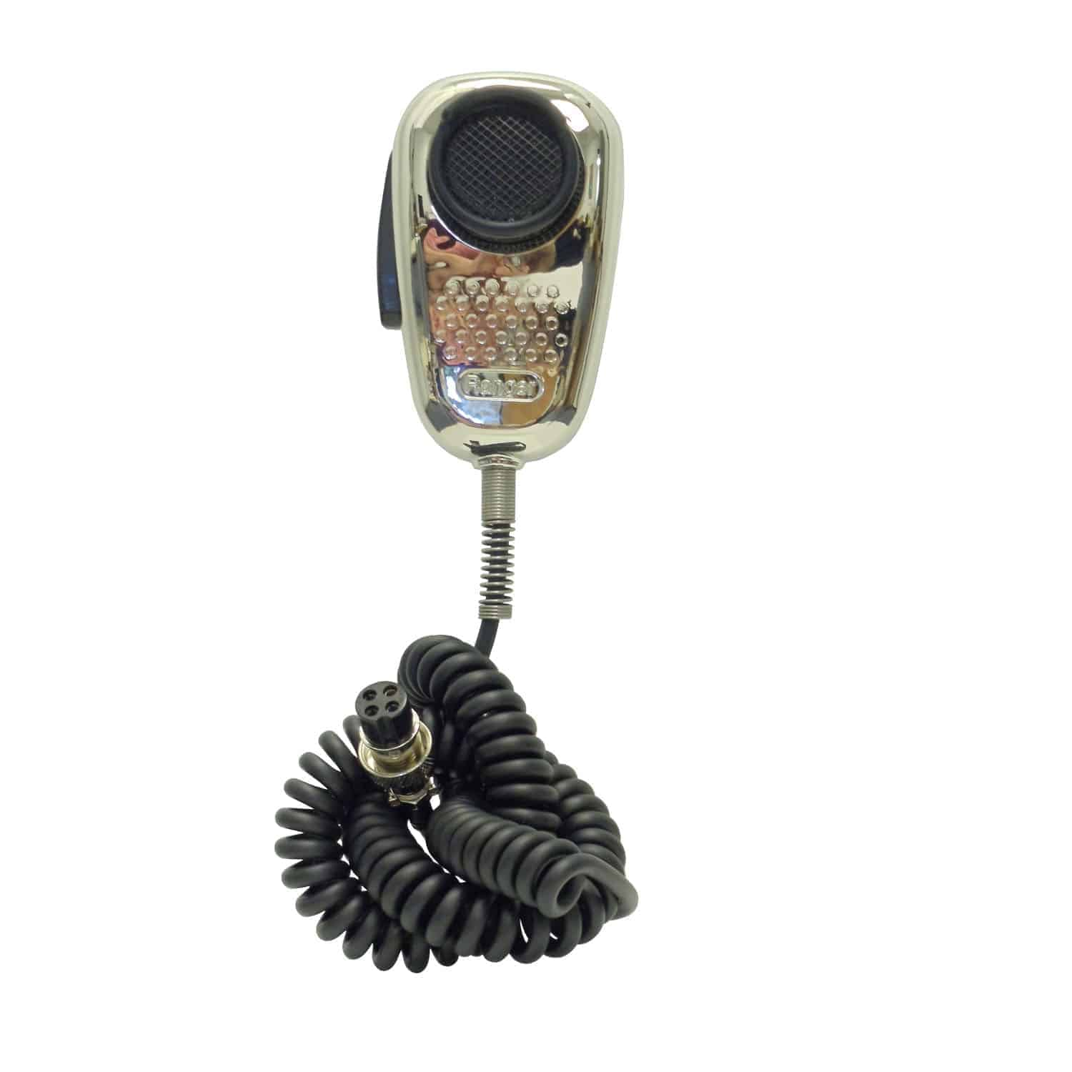 SRA198-C Ranger 4 Pin CB Mic With Noise Cancelling (Chrome)