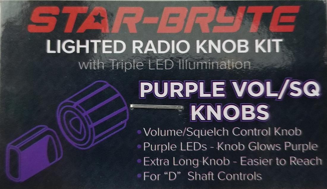 SRNK2X - Nitro Knob Volume / Squelch (Multiple Color Options)