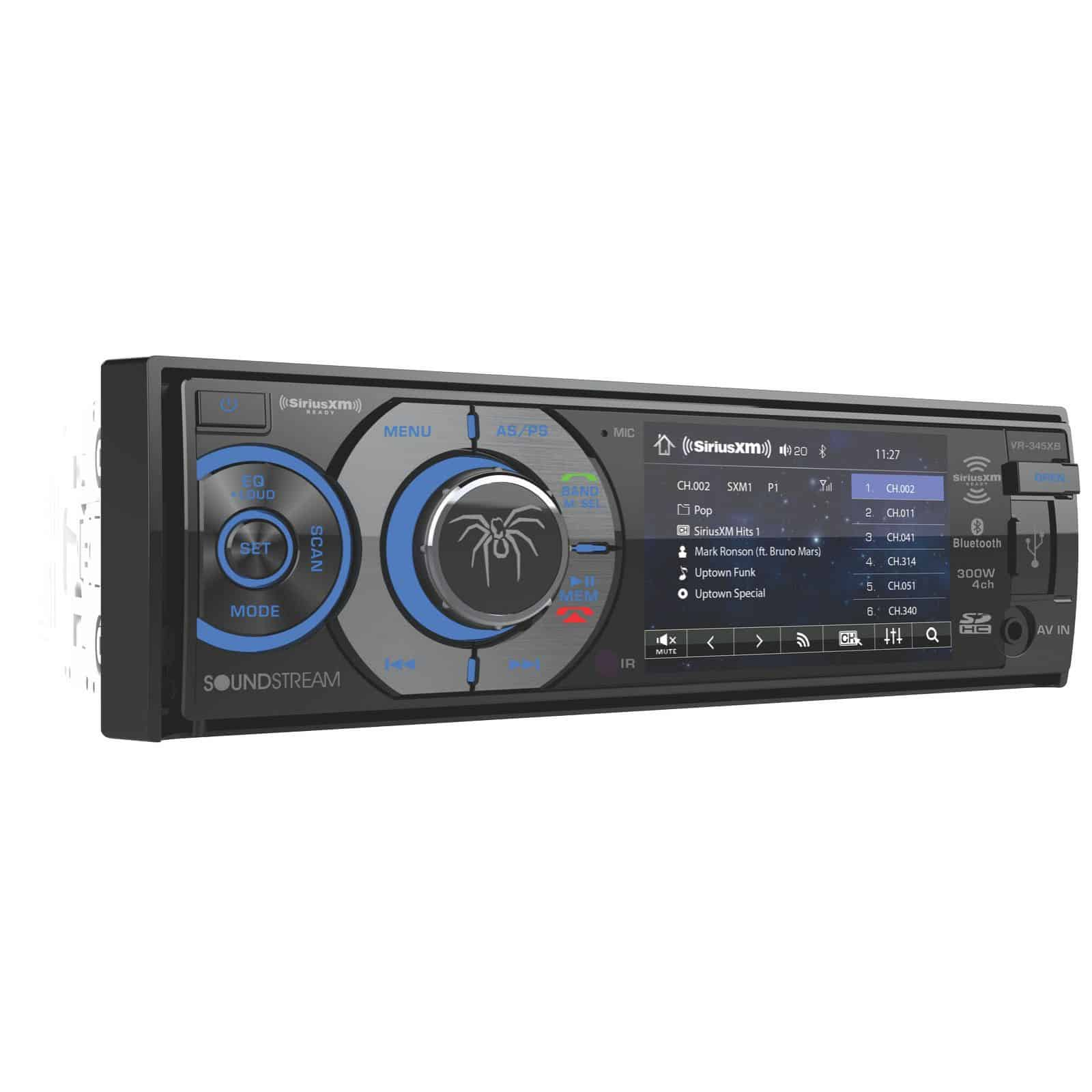 VR345XB - BLUETOOTH DVD/CD/AM/FM CAR STEREO RECEIVER