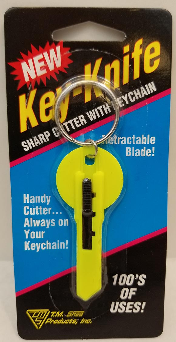 08606001 - Key Knife Carded In Display Box