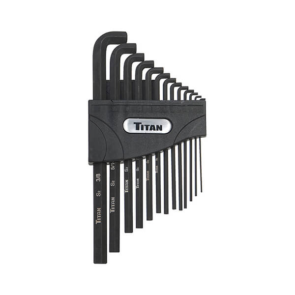 12737 - Titan 13 PC SAE LOW PROFILE HEX KEY SET 1/16 UP TO 3/8""