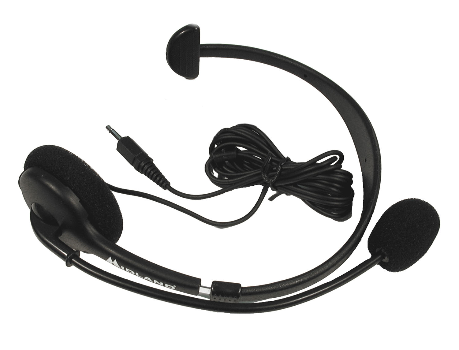 22540 - MIDLAND PROFESSIONAL HEADSET WITH BOOM MICROPHONE