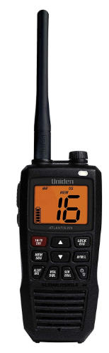 ATLANTIS275 - Unidan Atlantis 275 Handheld Two-Way VHF Marine Radio