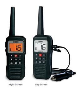 Atlantis155 - Uniden 3-Watt Floating Handheld VHF Marine Radio