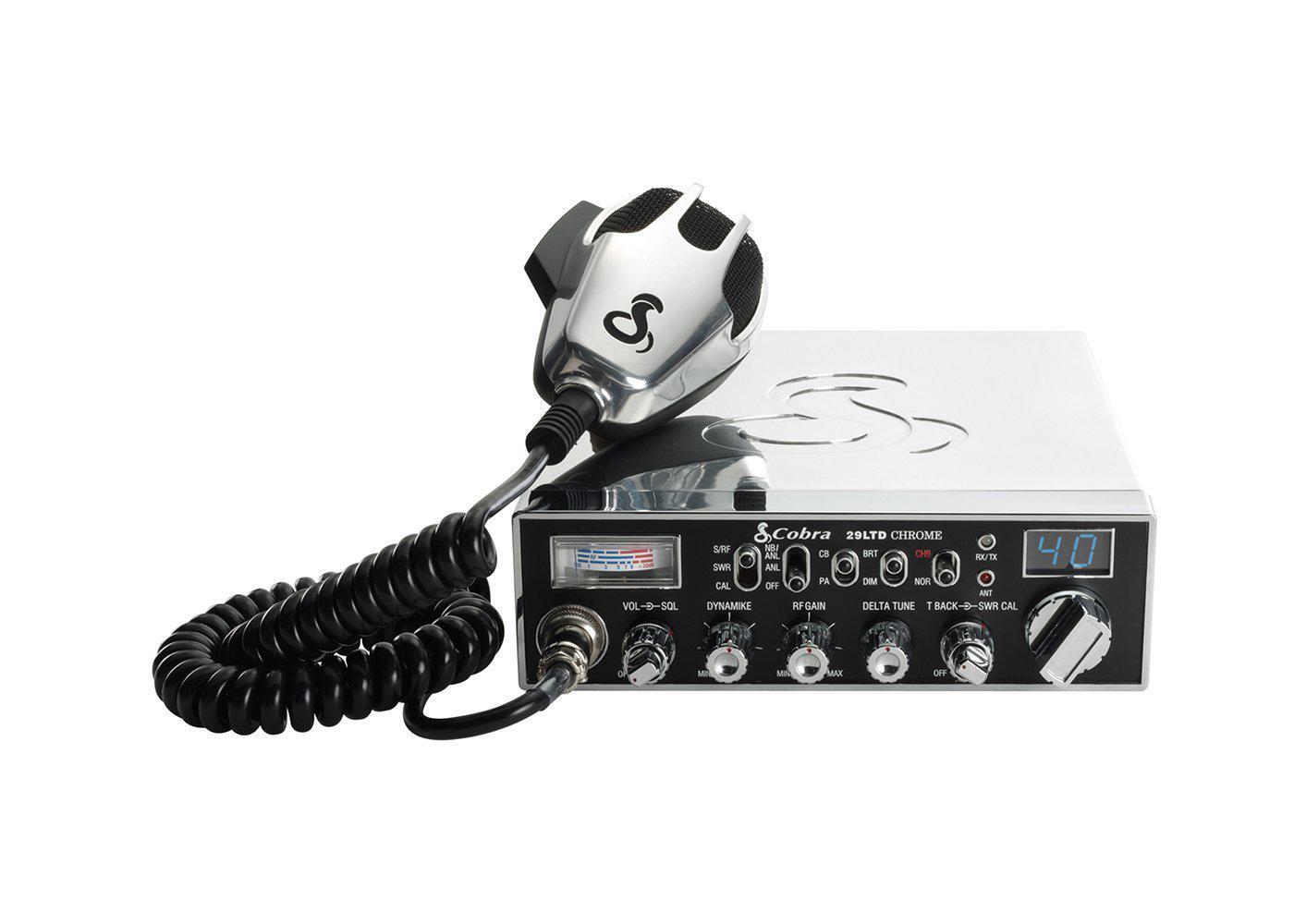 C29LTDSE-C - Cobra® CB Radio With Chrome Finish