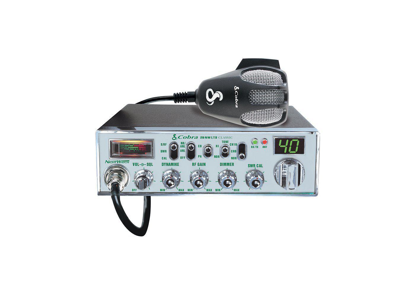 C29NWLTD - Cobra® CB Radio With NightWatch