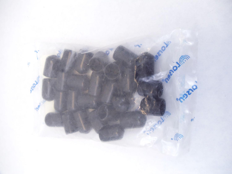 CAP1 - LARSEN BLACK REPLACEMENT CAP FOR DUCK ANTENNAS 25 PACK
