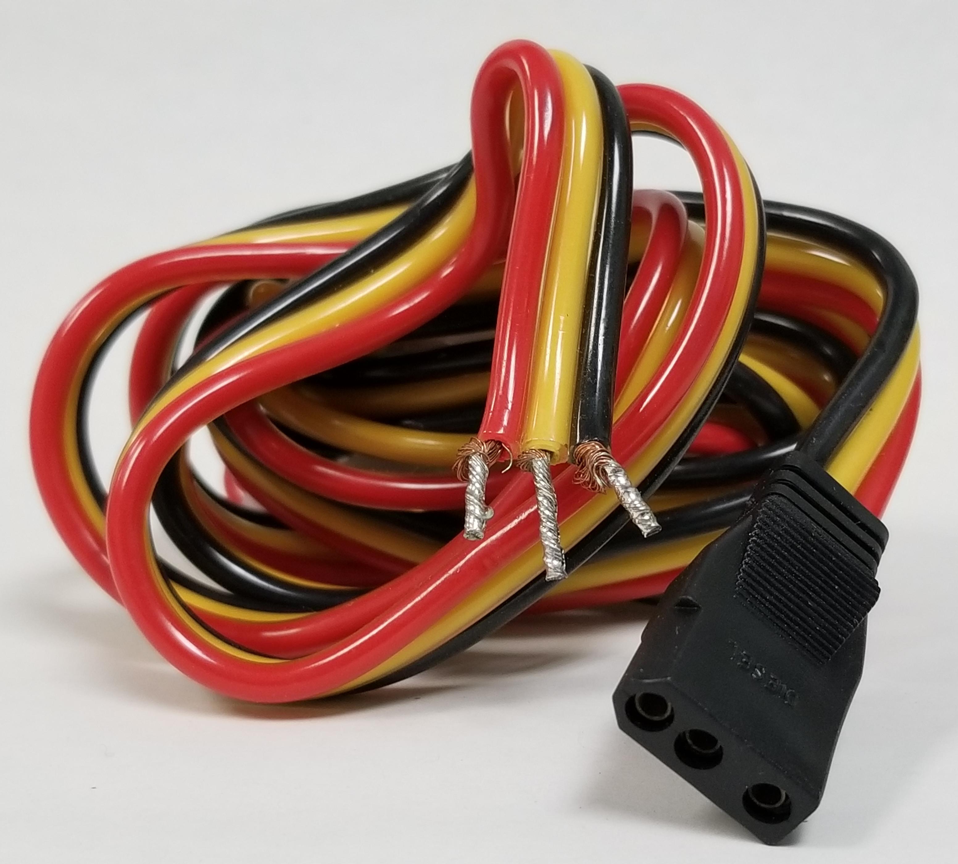 CB33A - Cobra® C25 and C29+ RADIO POWER CORD