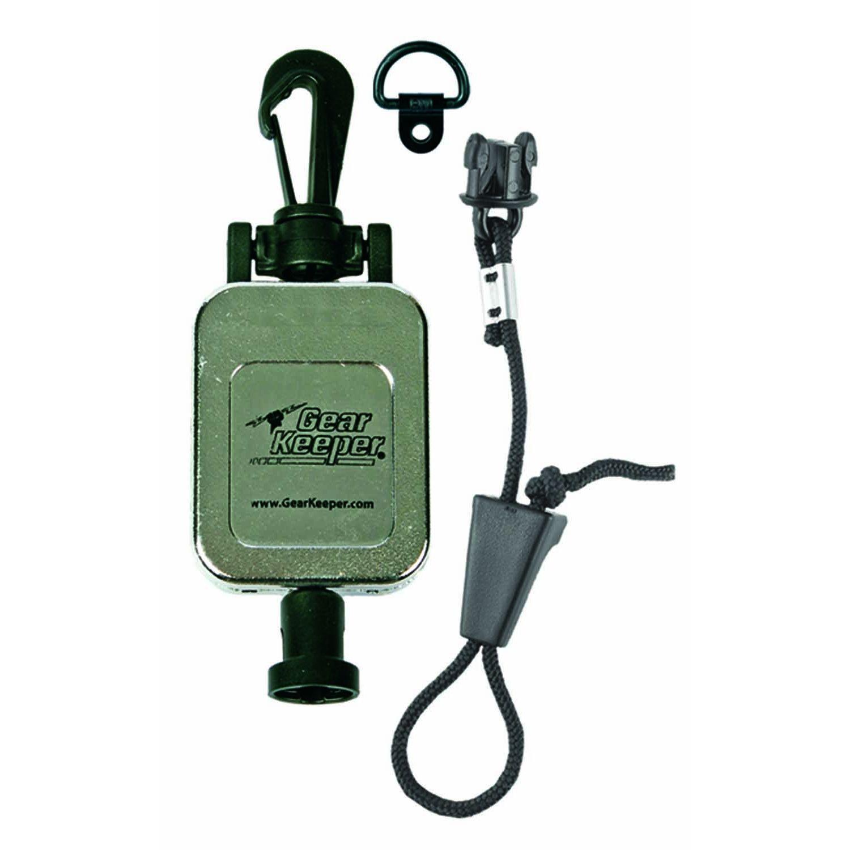 "Gear Keeper RT2-4712 28/"" Retractable CB Radio Microphone Hanger Chrome"