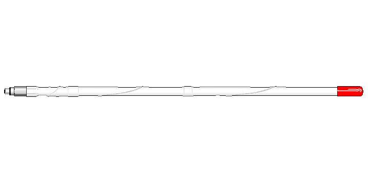 MSM3-W - FIRESTIK 3' MOBILE SCANNER ANTENNA (WHITE)