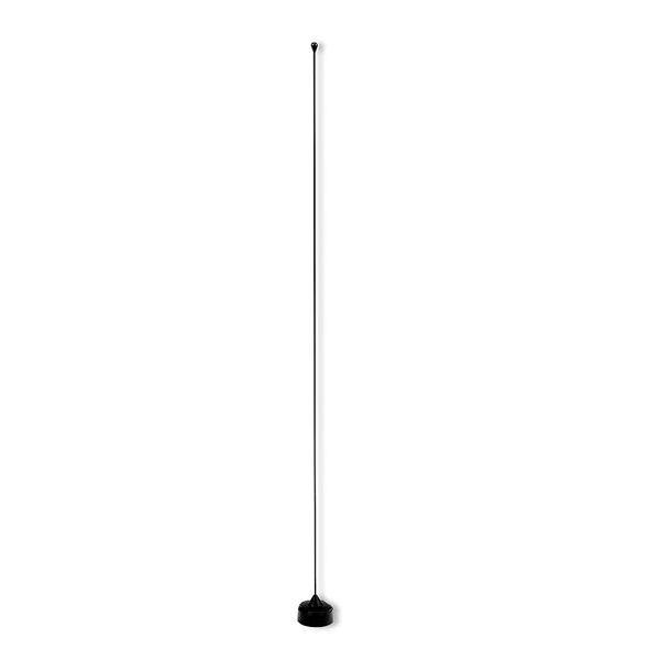 NMOQSPEC-B - Larson 136-512 MHz 0dB Field Tunable 1/4 Wave Black Mobile Antenna