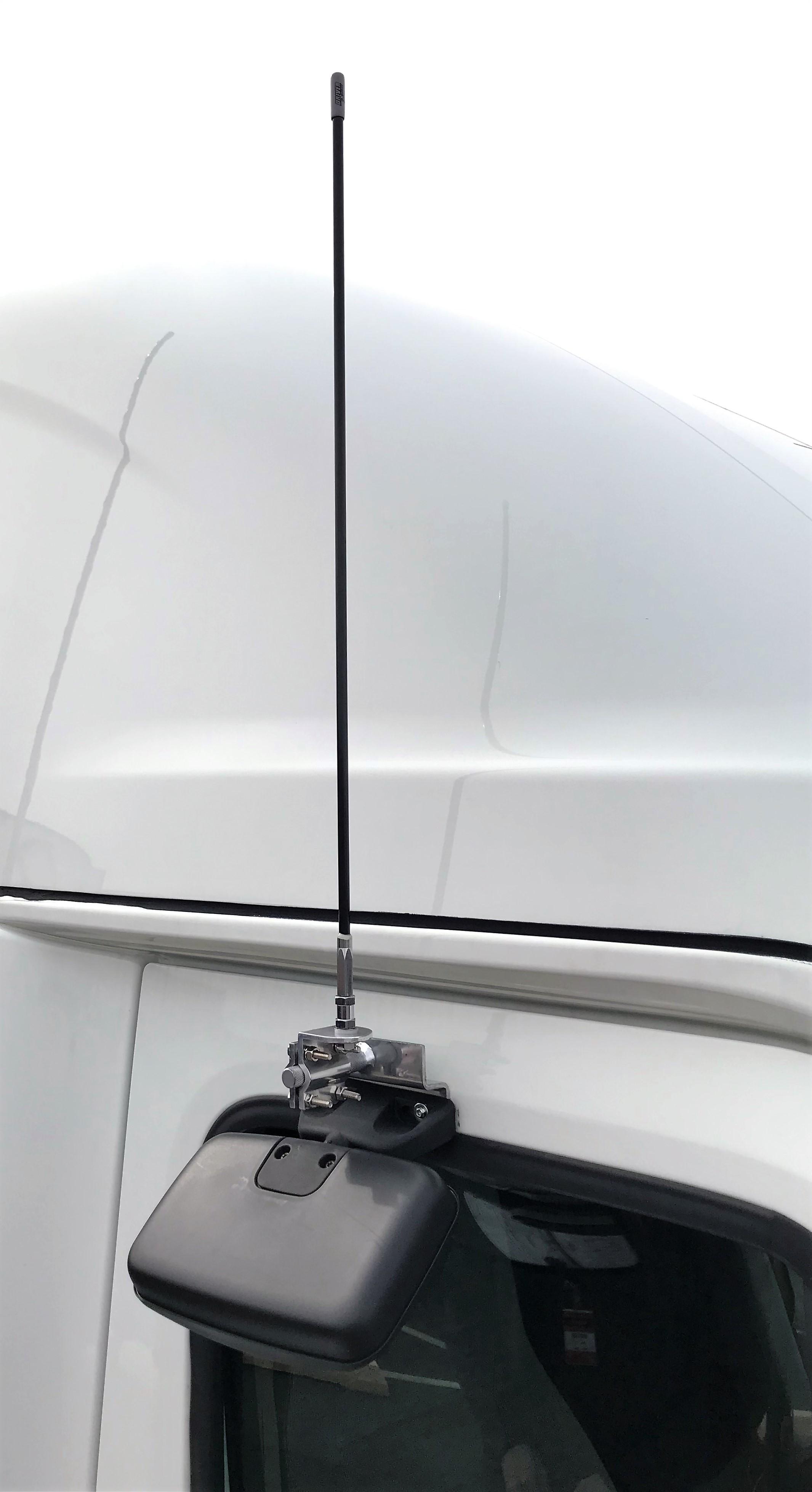 PCA60 - ProComm Spot Mirror Location Antenna Mounting Bar Bracket