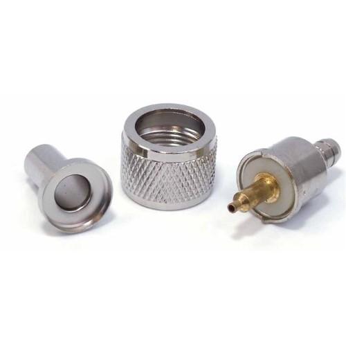 PL259C-8XA - Amphenol Style Crimp-On PL259 connector RG8X RG59U procomm coax