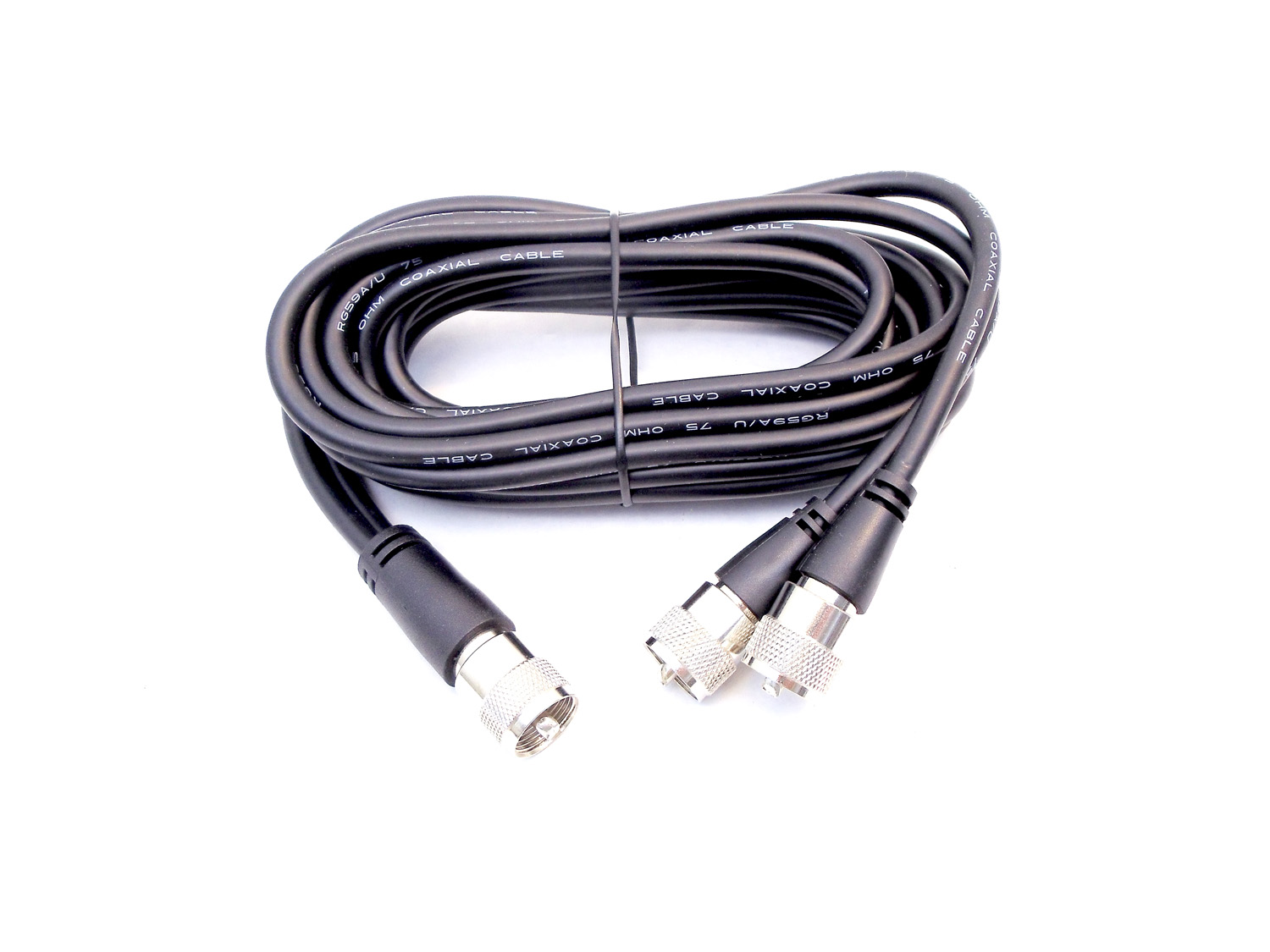 PPP9 - PROCOMM 9' COPHASE HARNESS COAX W/PL259 CONNECTORS