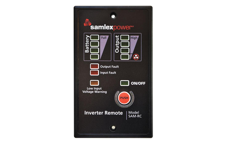 SAMRC - SAMLEX REMOTE CONTROL FOR SAMLEX SAM SERIES INVERTERS