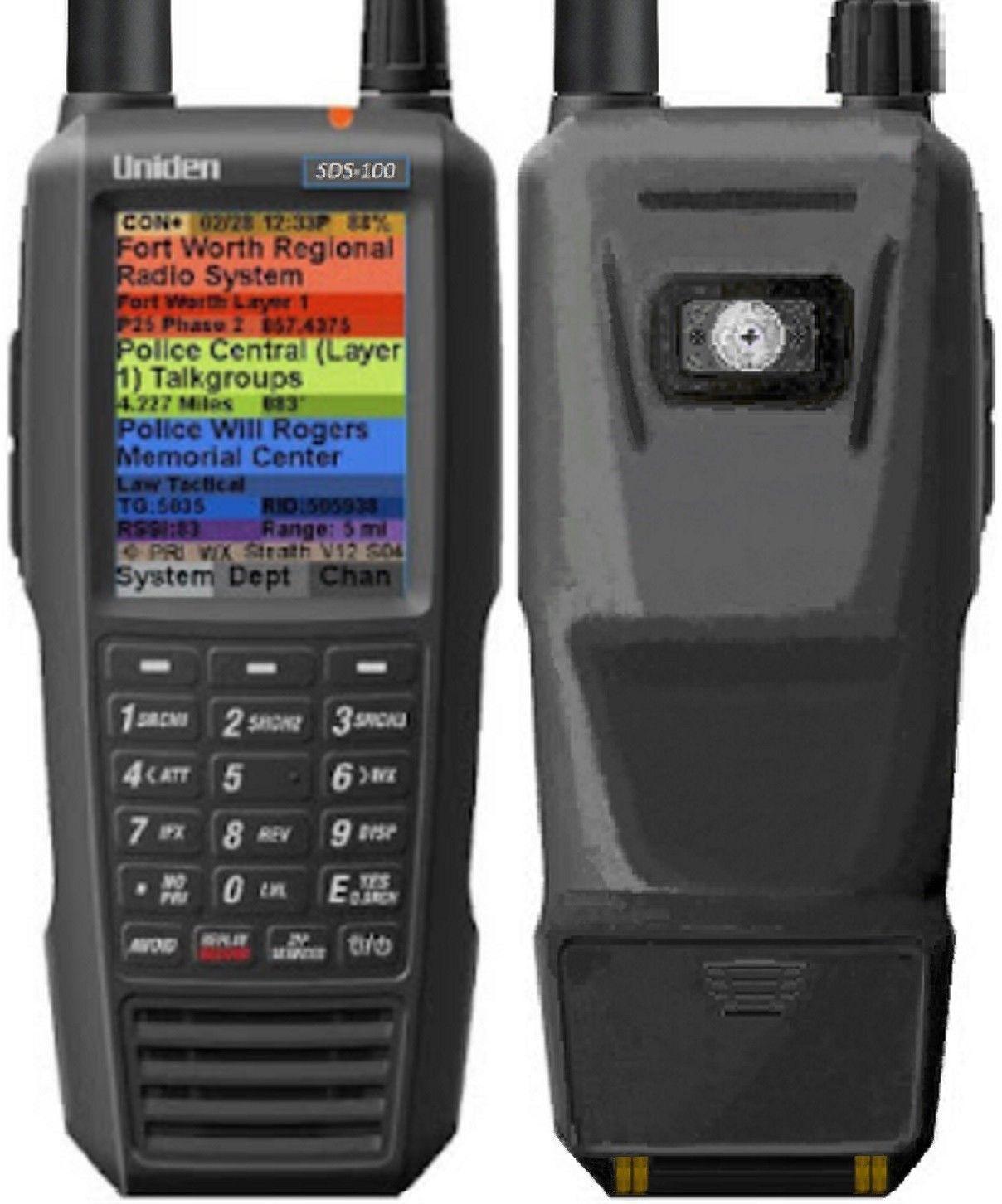 SDS100 - Uniden Digital Police Scanner handheld