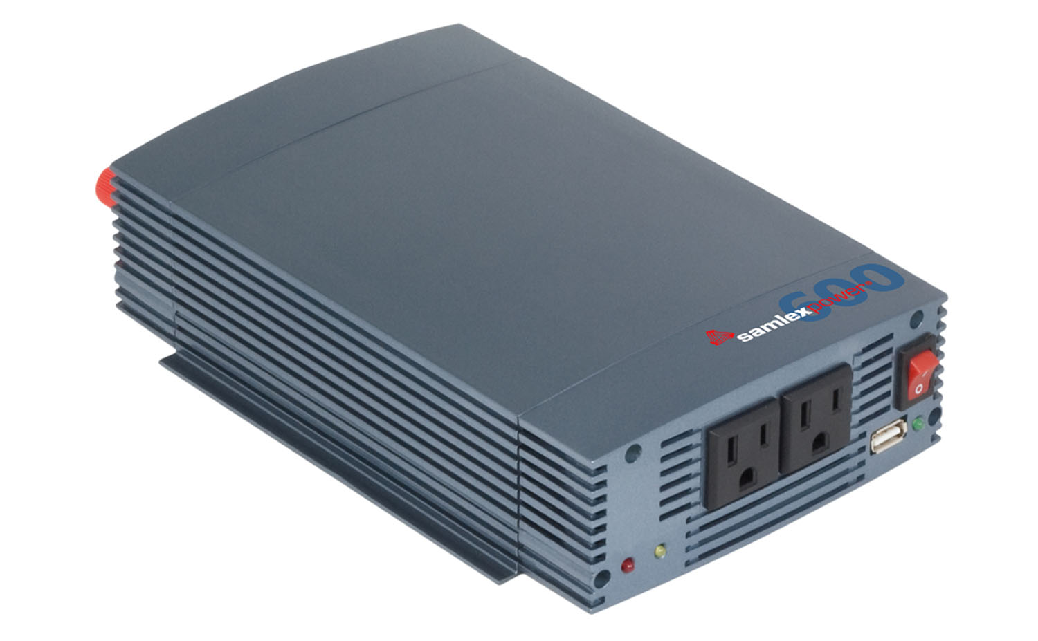 SSW60012A - SAMLEX  600 WATT PURE SINE WAVE INVERTER 12VDC TO 115VAC