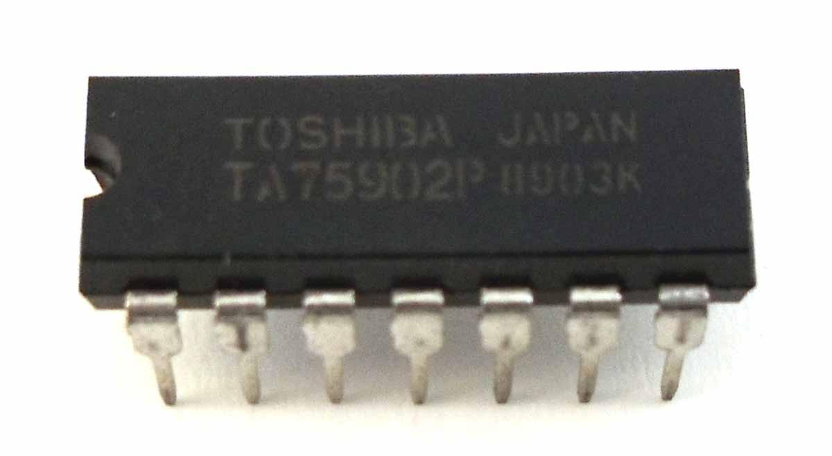 TA75902 - LINEAR I.C. - TOSHIBA