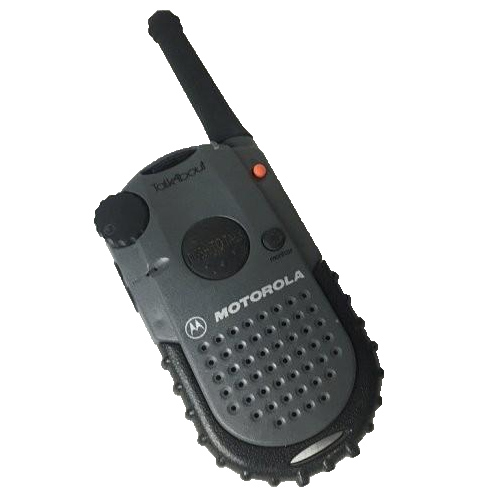 TALK-P - Motorola 14 Channel FRS Radio With Ctcss In Dark Pewter