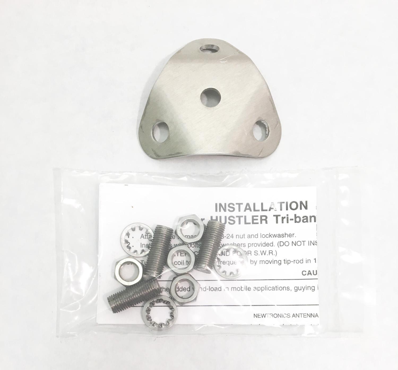 VP1 - Hustler VP-1 Multi-Band Adapter Plate