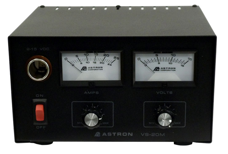 VS20M - ASTRON ADJUSTABLE 20 AMP V/A METERS