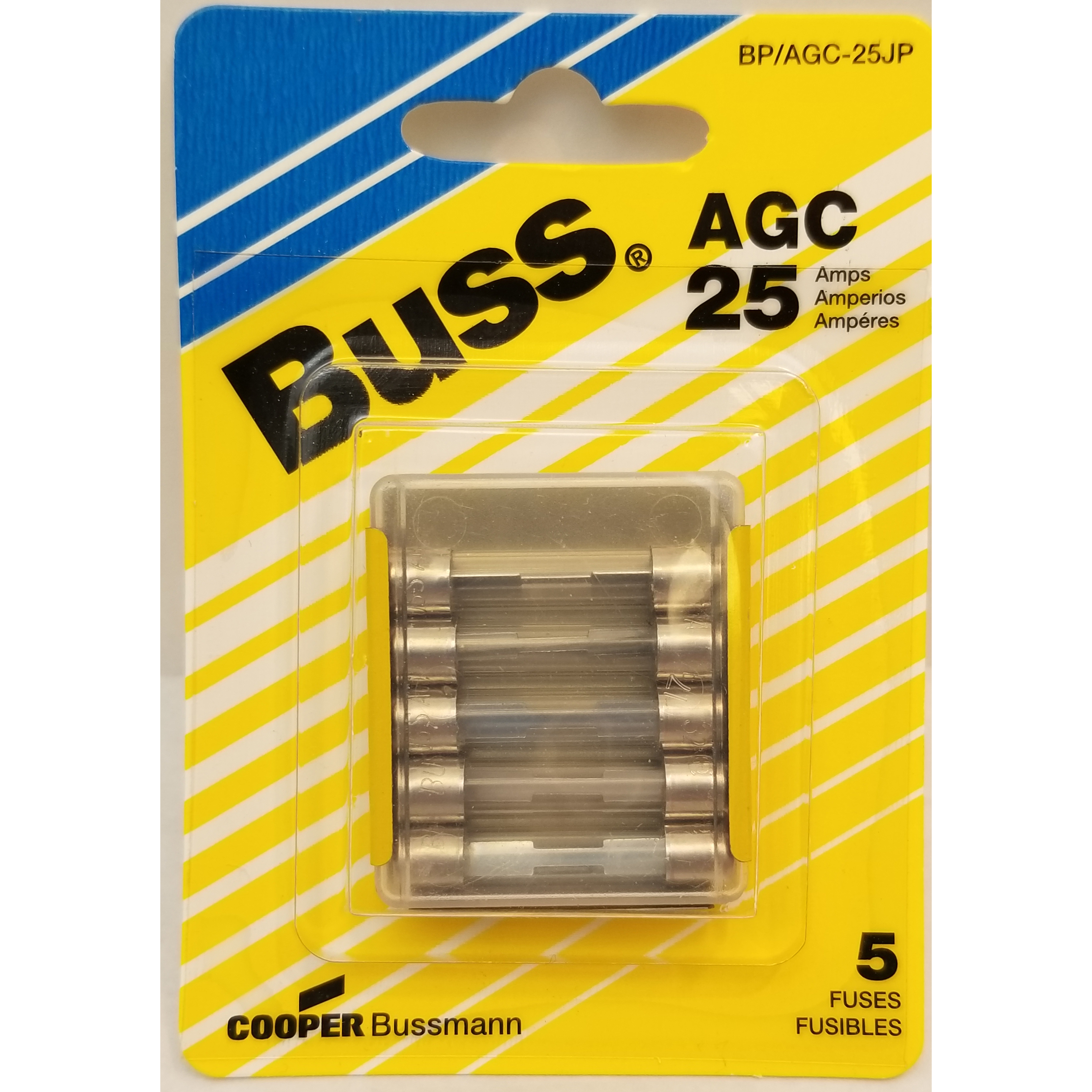 058BPATC25JP - Blister Packed Atc-25 Amp Fuse