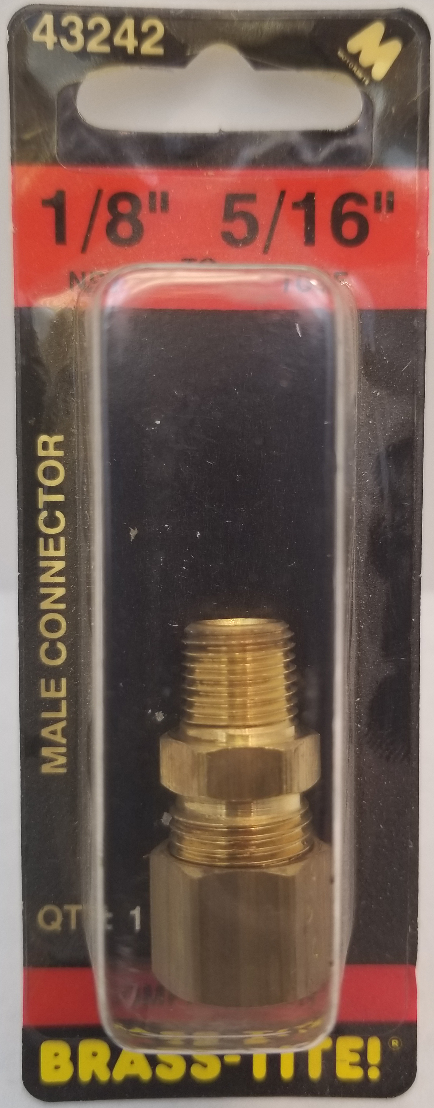 07443242 - Compression Connector (Brass)