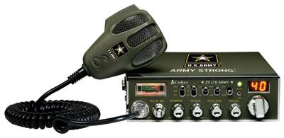 C29LTDARMY - Cobra® ARMY CB Radio *Peaked & Tuned*