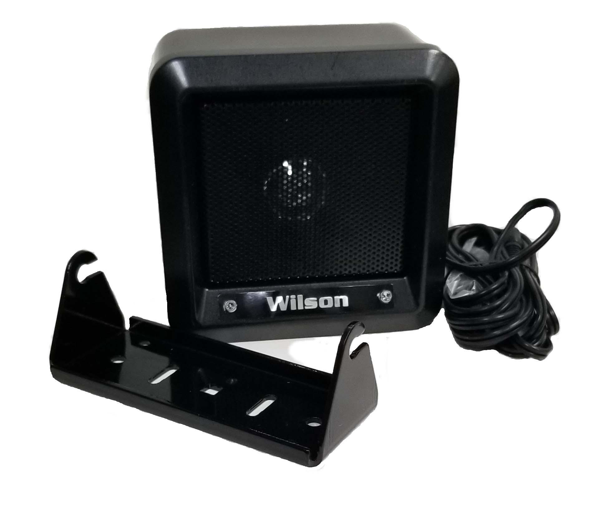 "305600-B - Wilson 5"" Heavy Duty Metal External Speaker with 22 Gauge Black Wire"
