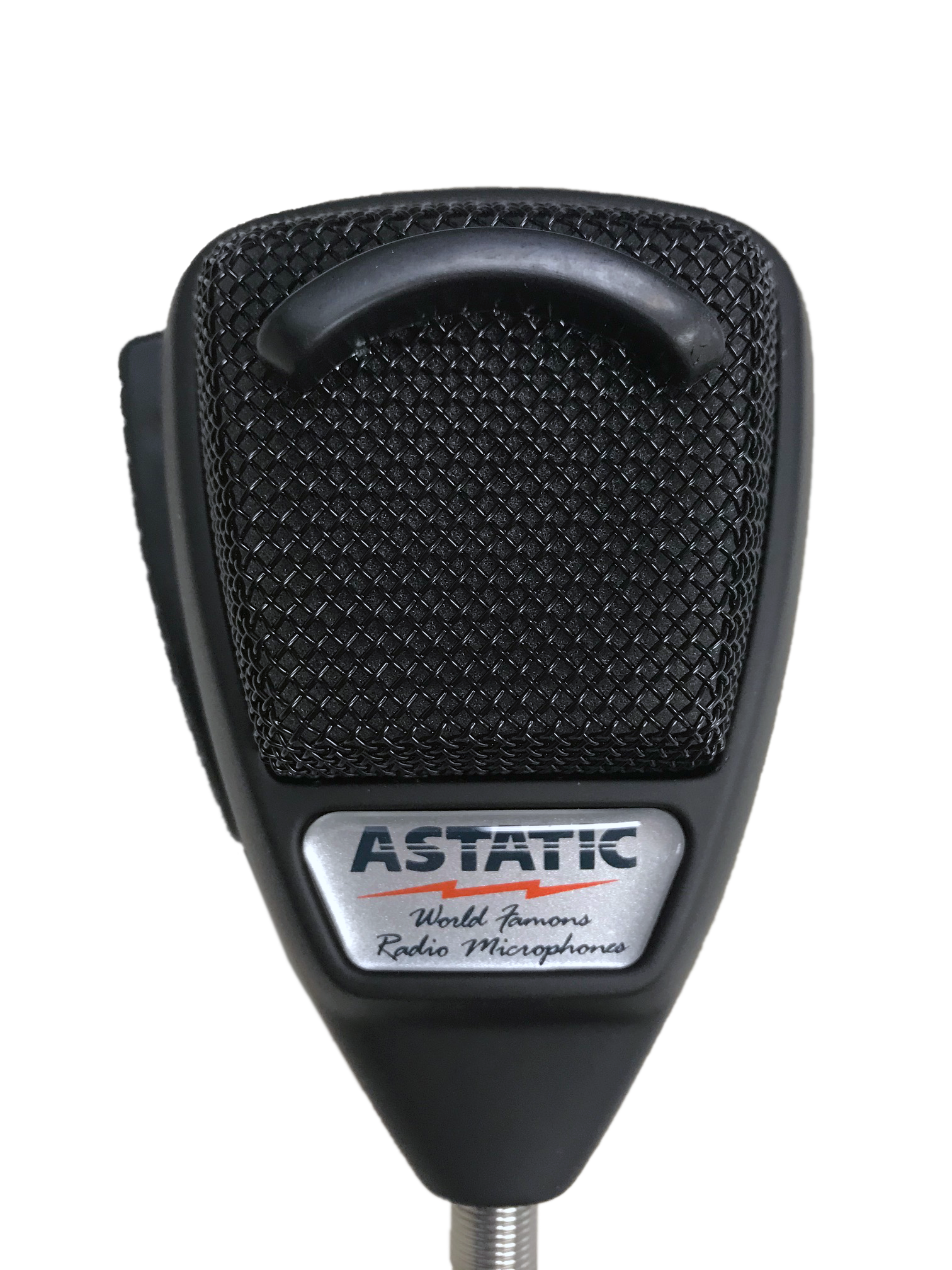 636LRB1 - Astatic 4 Pin Noise Canceling Microphone W/ Rubberized Finish