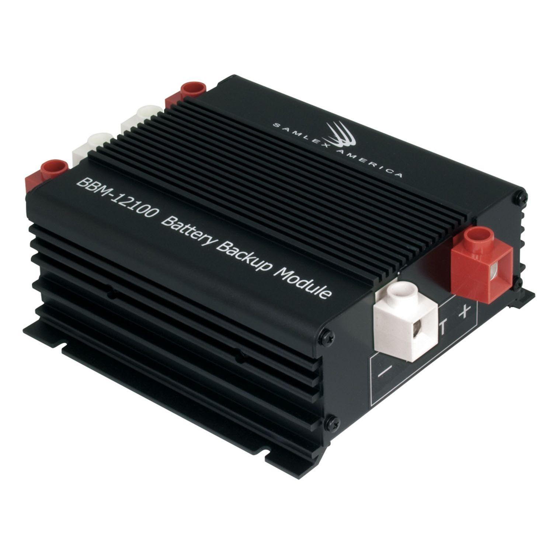BBM12100 - Samlex Battery Back Up DC Power For 12V Or 24V (Charger)