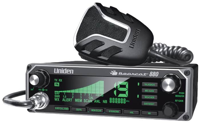 BC880-T - Uniden Bearcat 880 CB Radio (Peaked and Tuned)