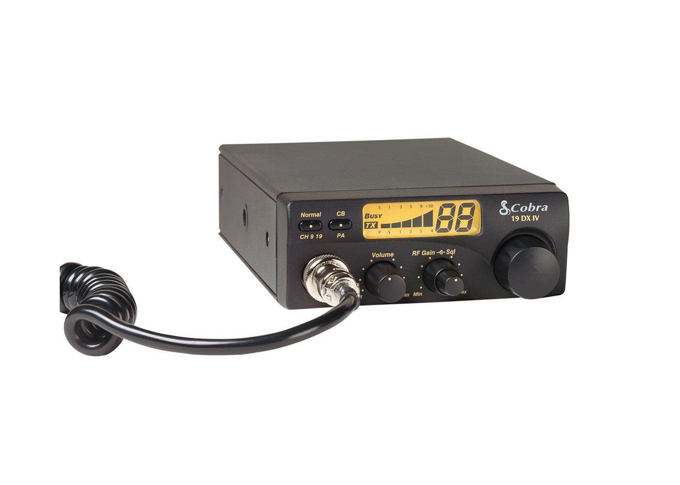 C19DXIV - Cobra® 40 Channel Compact CB Radio