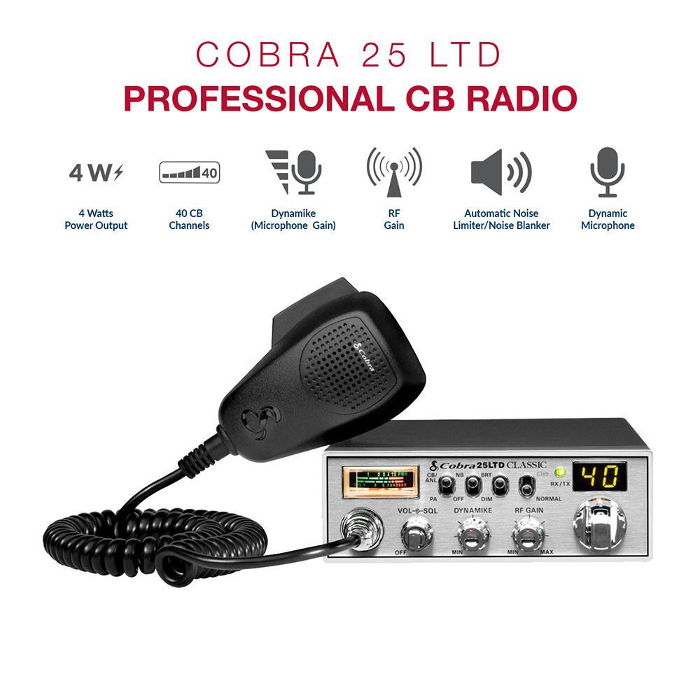 C25LTD - Cobra® Classic CB Radio