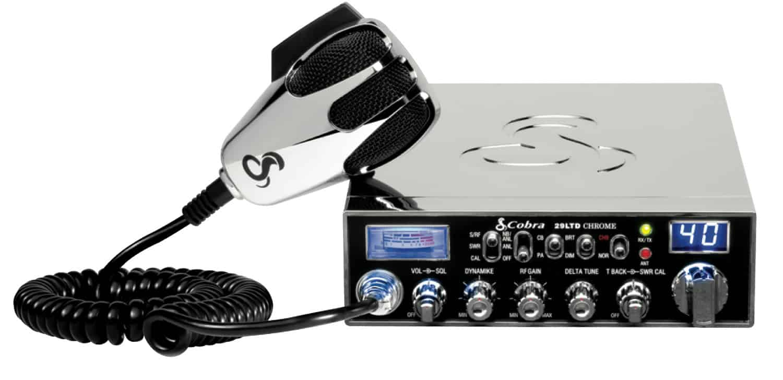C29LTDSEC-T - Cobra® CB Radio With Chrome Finish (Peaked and Tuned)