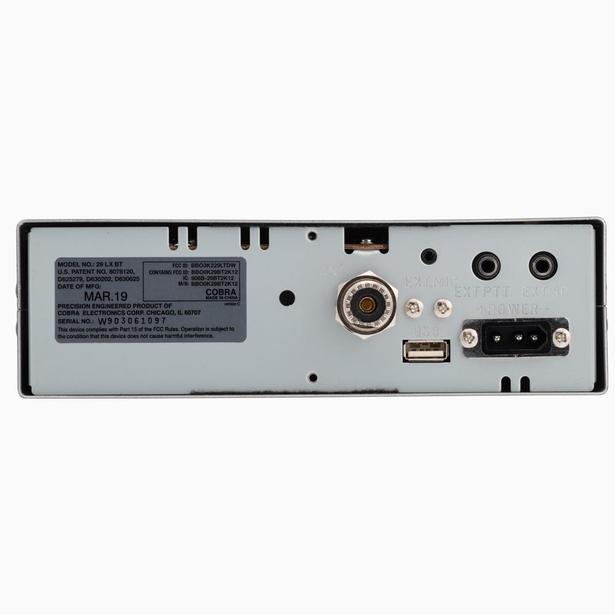 C29LXBT-T - Cobra® Bluetooth CB Radio (Peaked and Tuned)