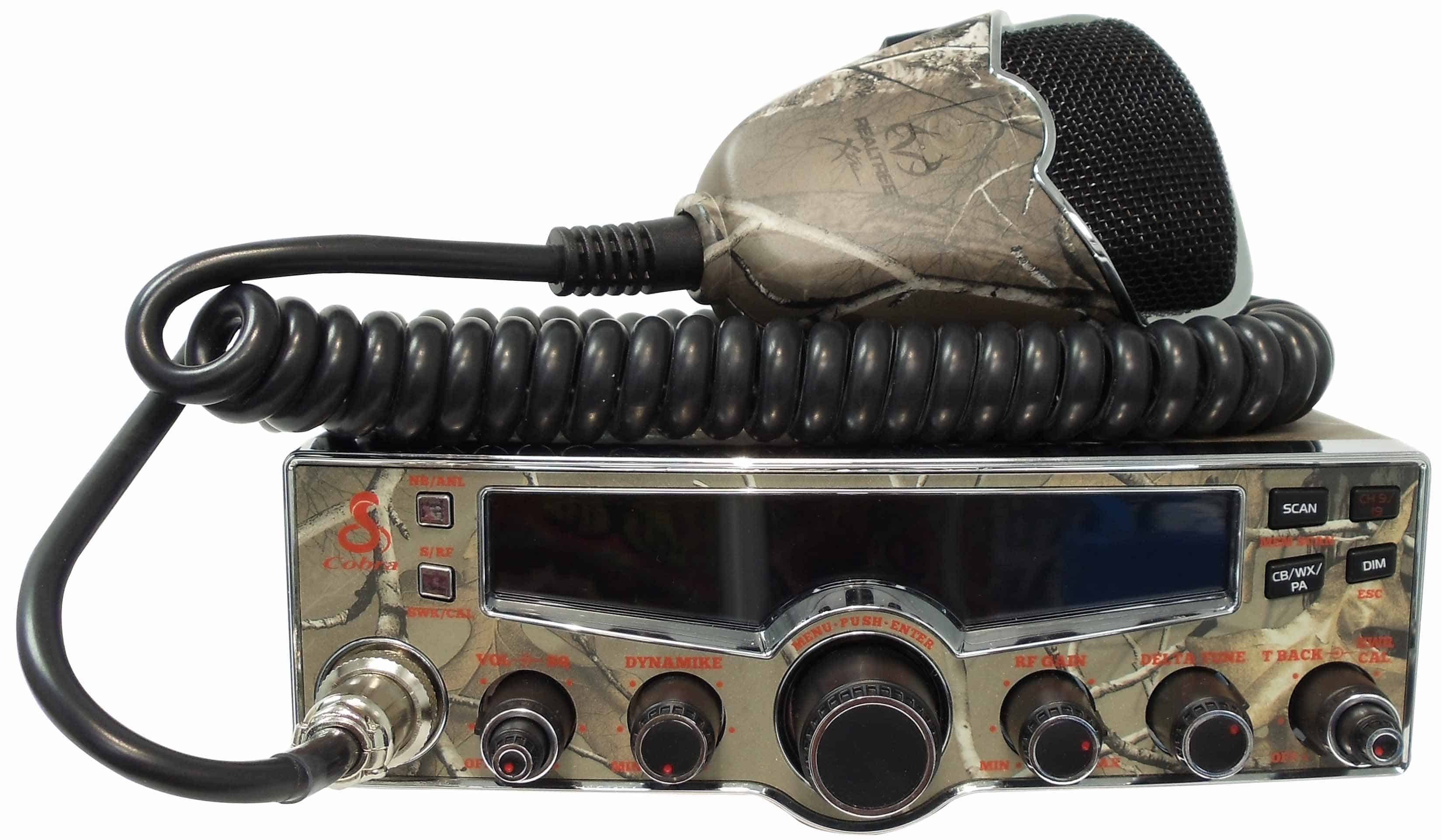C29LXCAMO-T - Cobra® Camo Design CB Radio (Peaked and Tuned)