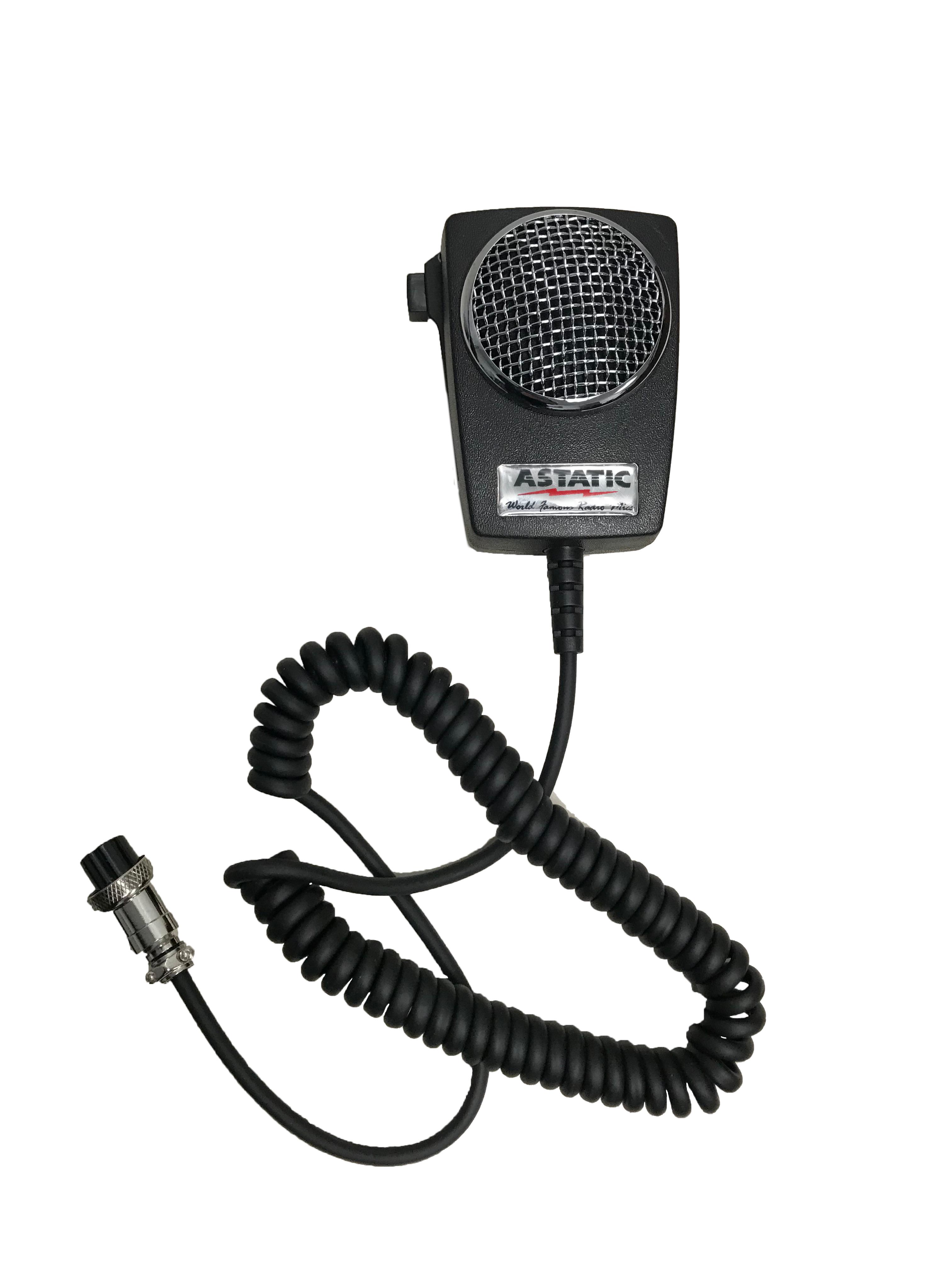 D104M6B-DX1 - Astatic 4 Pin Power CB Microphone