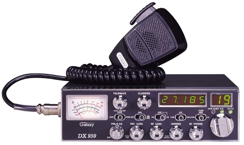DX959-T - Galaxy CB Radio with SSB (Peaked and Tuned)