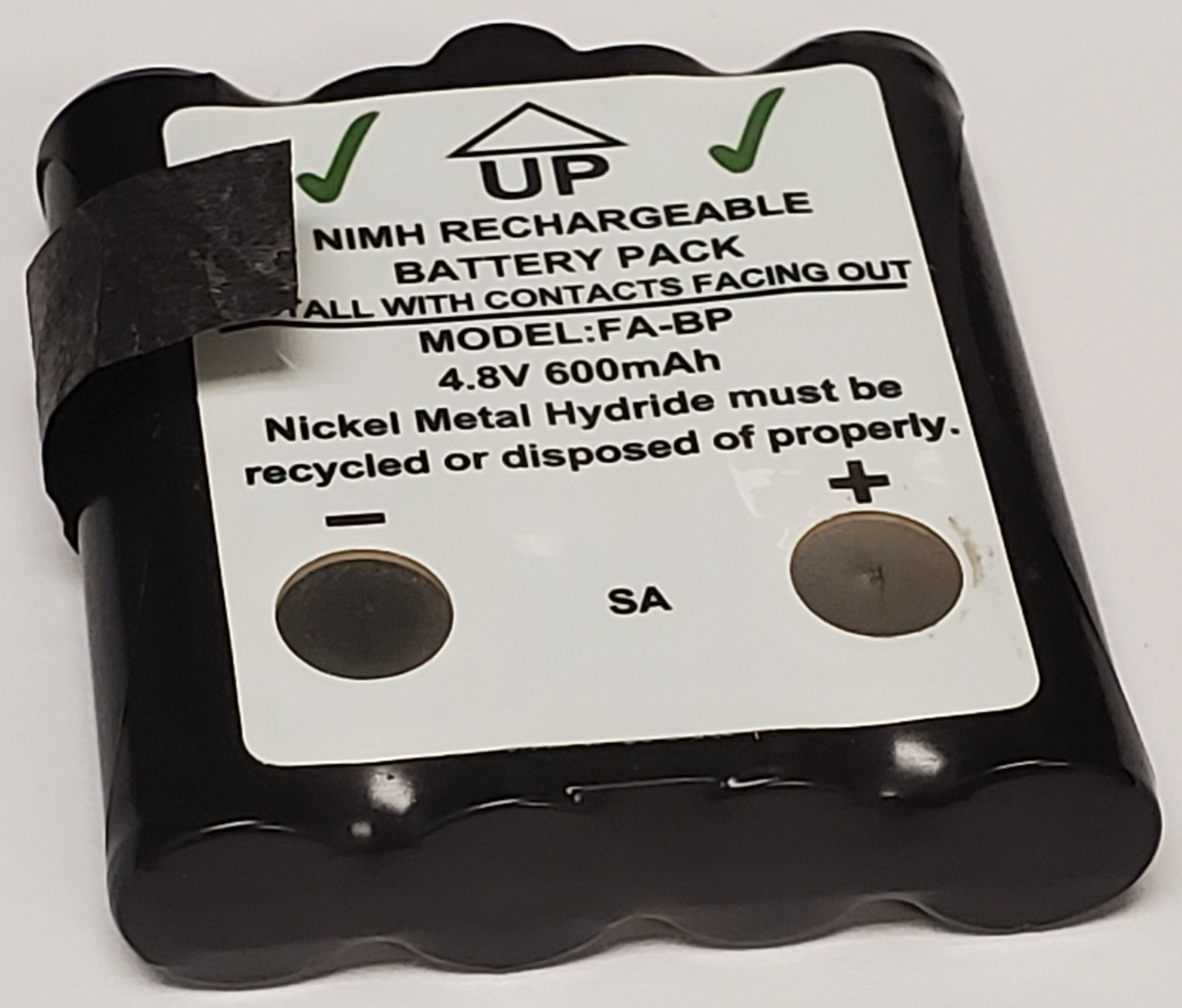 FABP - Nimh Battery Pack For Cobra Frs Radios