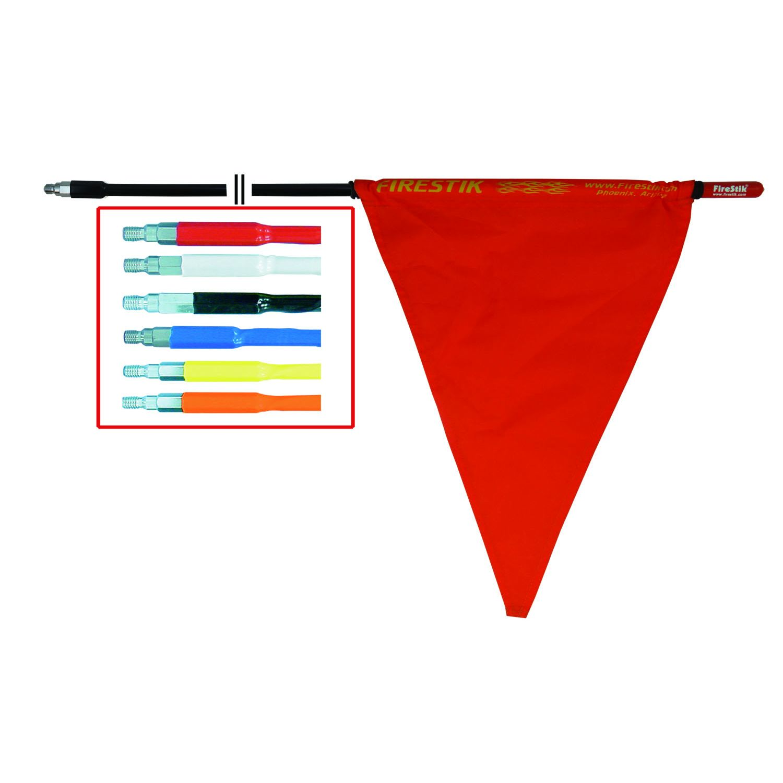 FXX - Firestik 3/8x24 Thread Fiberglass Safety Stick with Flag