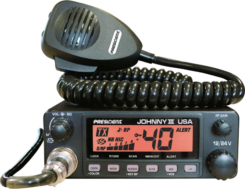 JOHNNYIII-T - President  CB Radio (Peaked and Tuned)