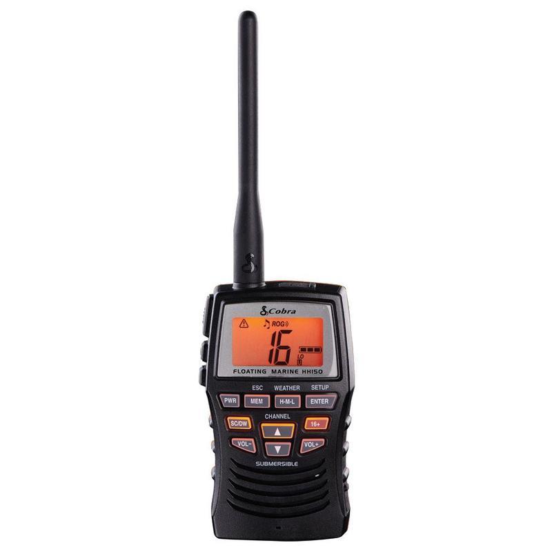 MRHH150FLT - Cobra®3 Watt Handheld VHF Radio