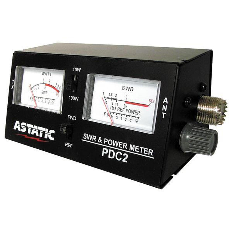 PDC2 - Astatic SWR RF Field Strength Test Meter