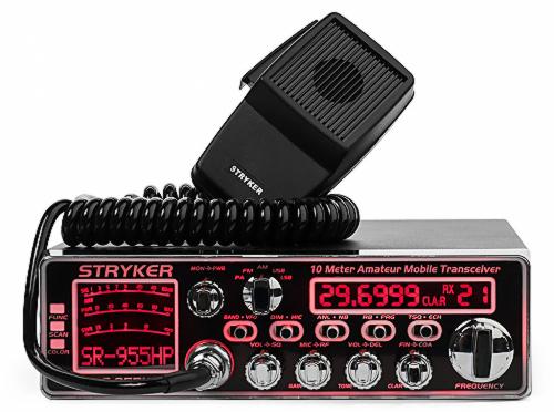 SR955HPC  - Stryker 10 Meter 60+ Watt PEP Amateur Ham Radio with SSB