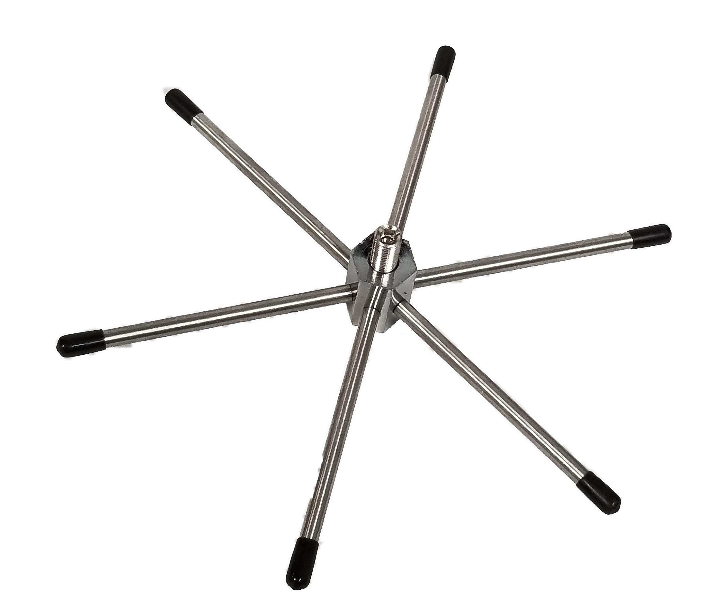 WILKIT-B - Twinpoint 6 Element Mobile Ground Radial (Black Tips)
