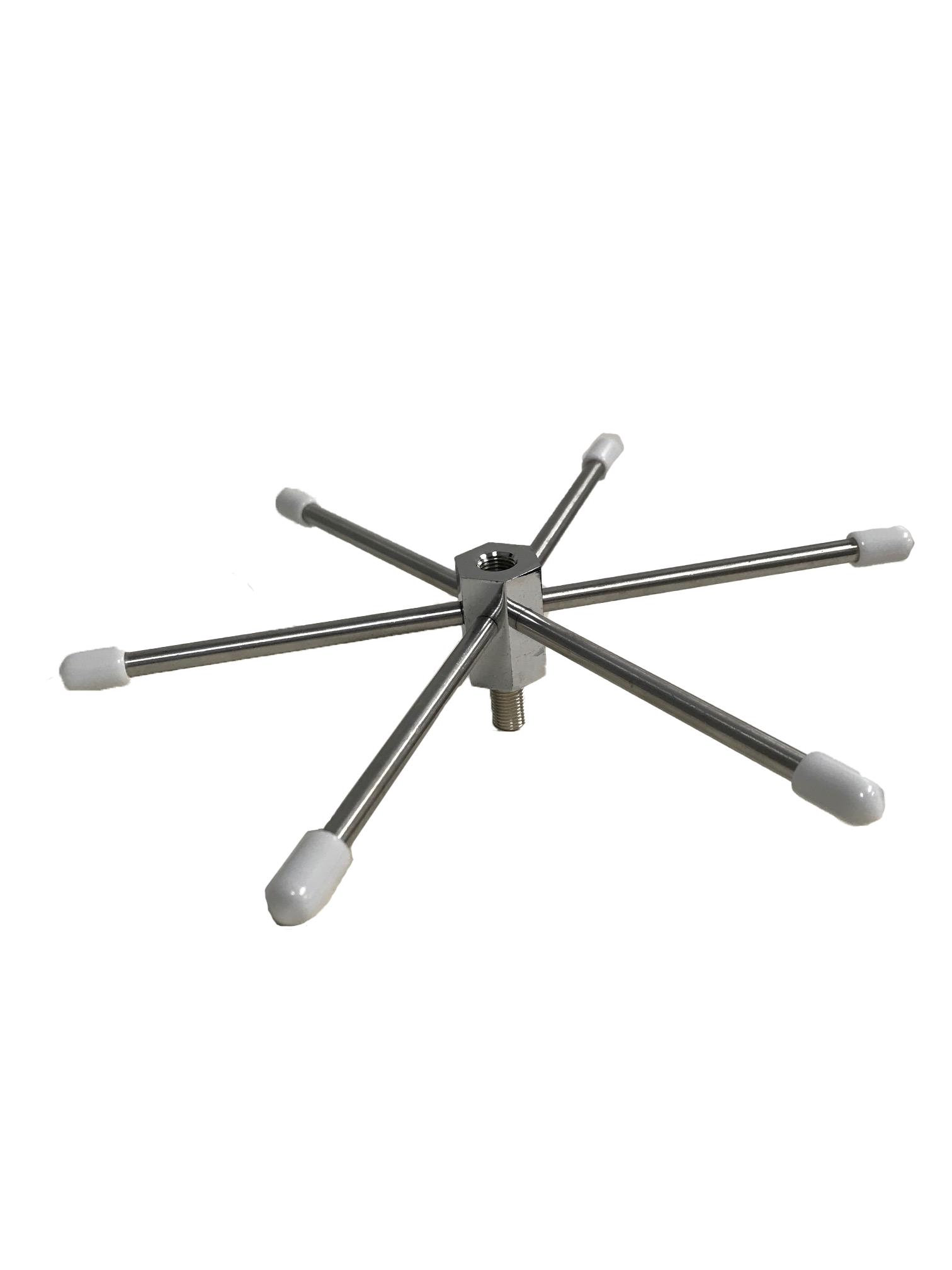 WILKIT-W - Twinpoint 6 Element Mobile Ground Radial (White Tips)