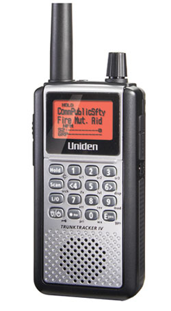 BCD396XT - Uniden Compact APCO 25 Digital Handheld Bearcat Scanner
