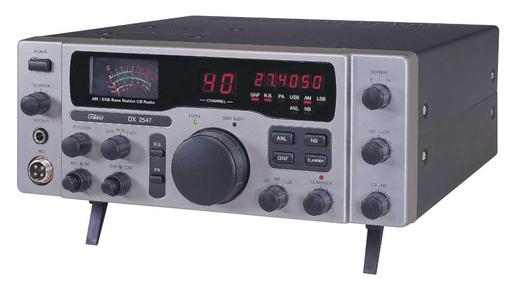 DX2547-T - Galaxy Base CB Radio with SSB (Peaked & Tuned)
