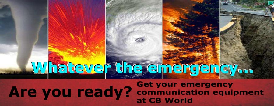 Emergency- Don't Wait. Stay Safe. Be Prepared.
